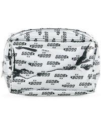 Golden Goose Deluxe Brand - Logo Printed Makeup Bag - Lyst