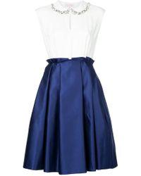 Dice Kayek - Contrast Skirt Dress - Lyst