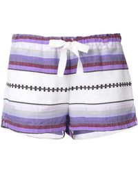 lemlem - Striped Shorts - Lyst