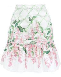 Isolda - Babado Arabia Skirt - Lyst