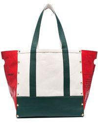 Sacai Garden Tote Bag