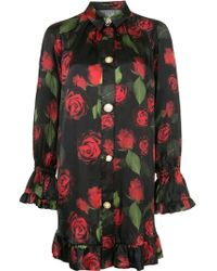 Mother Of Pearl - Vestido con estampado de rosas - Lyst