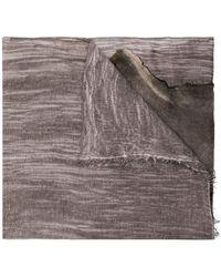 Cutuli Cult - Raw Edge Scarf - Lyst