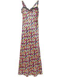 c233a4092323 For Love & Lemons Juliet A-line Dress in Red - Lyst