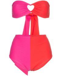 Paper London - Bikini Florentine con abertura de corazón - Lyst