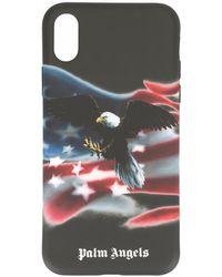 Palm Angels IPhone X-Hülle mit Adler-Print