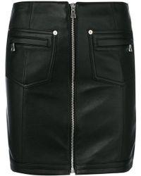 Manokhi - Fitted Mini Skirt - Lyst