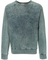 Nudie Jeans - Sweatshirt mit Logo - Lyst