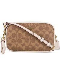 378d6162ab7b Lyst - COACH Swagger 20 Cross-body Bag in Green