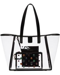 Sophia Webster - Transparent Dina Pvc Tote Bag - Lyst