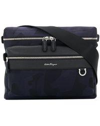 Ferragamo - Zipped Shoulder Bag - Lyst