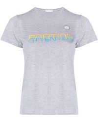 Societe Anonyme - Partial T-shirt - Lyst