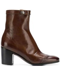 Alberto Fasciani - Heeled Ankle Boots - Lyst