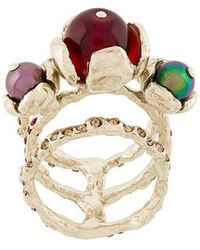 Koche - Embellished Ring - Lyst
