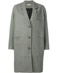 6397 - Single-breasted Coat - Lyst