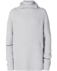 Lost and Found Rooms - Ribbed Roll Neck Sweater - Lyst