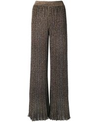 Missoni - Knitted Palazzo Pants - Lyst
