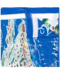 Polo Ralph Lauren - Cote D'azure Motif Scarf - Lyst