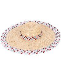 Gigi Burris Millinery - Woven Sun Hat - Lyst