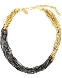 Iosselliani - 'black Hole Sun' Necklace - Lyst