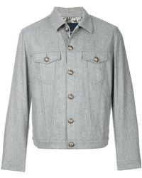 Jacob Cohen - Light-weight Fitted Jacket - Lyst