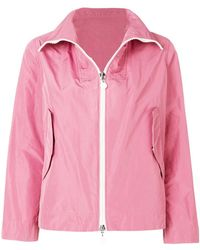 Moncler - Zipped Fitted Jacket - Lyst