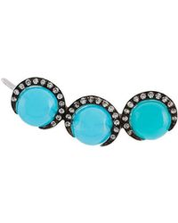 Christina Debs - Chalcedony Earring - Lyst