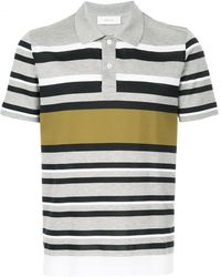 Cerruti 1881 - Multi-stripe Polo Shirt - Lyst