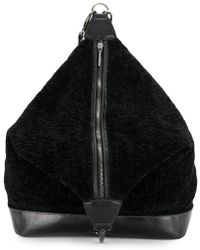 Jamin Puech - Furry Zipped Backpack - Lyst