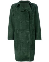 Golden Goose Deluxe Brand - Nives Double Breasted Coat - Lyst
