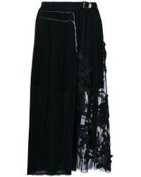 Aviu | Lace Insert Skirt | Lyst