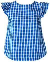 Sea - Checked Blouse - Lyst