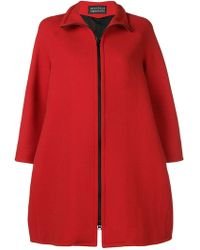 Gianluca Capannolo - Zip-up Flared Jacket - Lyst