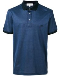 Ferragamo - Double Gancio Logo Polo Shirt - Lyst