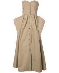 Maryam Nassir Zadeh - Long Strapless Dress - Lyst