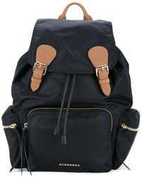 Burberry | Buckled Backpack | Lyst