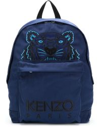 KENZO - Tiger Embroidered Backpack - Lyst