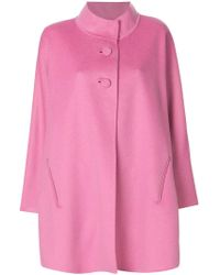 Iris Von Arnim - Short Cape Coat - Lyst