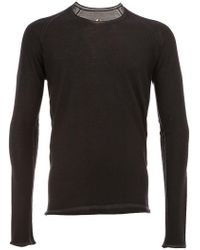 Label Under Construction - Crew Neck Sweatshirt - Lyst