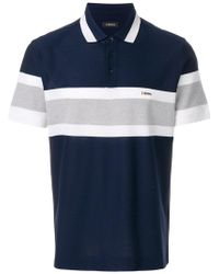 Z Zegna | Striped Polo Shirt | Lyst