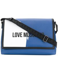 Love Moschino - Front Printed Shoulder Bag - Lyst
