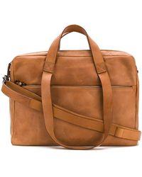 Marsèll - Brand Embossed Laptop Bag - Lyst