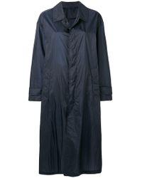 Mackintosh - Navy Nylon Oversized Coat Lm-100b - Lyst