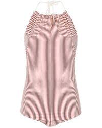 Egrey - Striped Bodysuit - Lyst