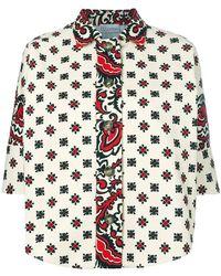 RED Valentino - Floral Embellished Jacket - Lyst