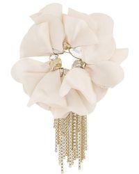 Lanvin - Floral Brooch - Lyst