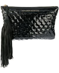Ermanno Scervino - Textured Clutch - Lyst