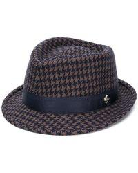 Tagliatore - Chris Checked Hat - Lyst