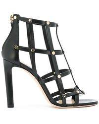 7da161f6f1fb Lyst - Jimmy Choo Tina 65 Sandals in Black