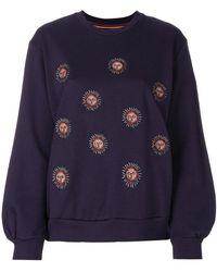 Paul Smith - Sun Embroidered Sweatshirt - Lyst